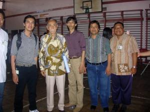 Pak Djoko di acara reuni lulusan 1988